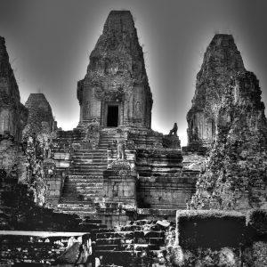 Temple Ruins in Ankor, Cambodia