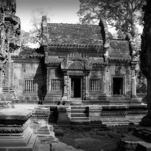 Temple of Banteay Syrei, Cambodia