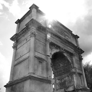 Arch of Titus in the Roman Forum, Rome