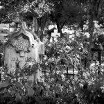 Headstone in old city cemetery, Sacramento, California