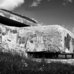 WWII German concrete bunker at Bangsbo Fort, North Jutland, Denmark