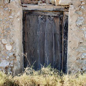 Dilapidated rural home, La Mancha, Spain