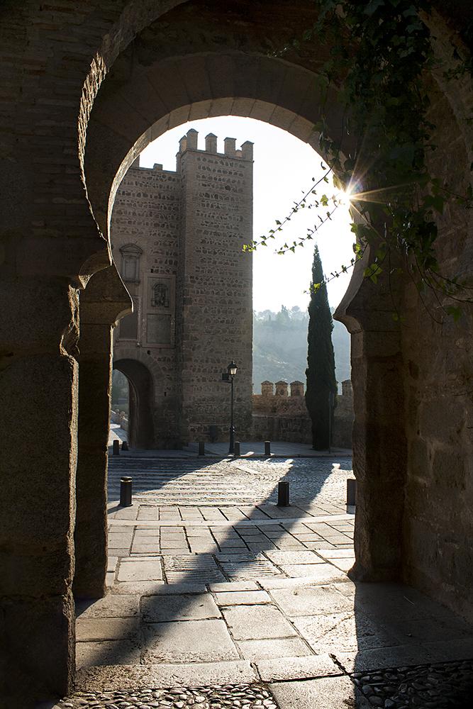 Moorish Archway, Toledo, Spain