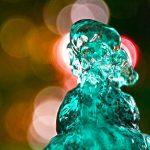 Close up of water fountain head, Sacramento, California