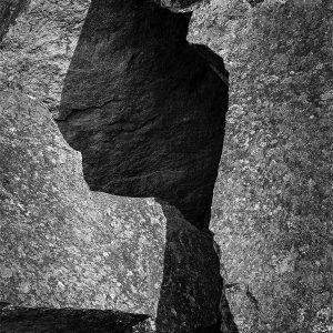 A granite quarry among the Incan ruins of Machu Picchu, Peru