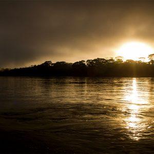 Sunrise in the Amazon, Peru