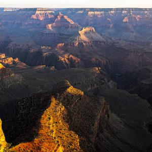 Sunrise on the South Rim, Grand Canyon NP, AZ
