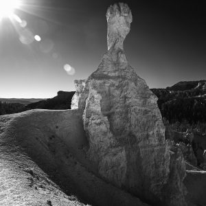 "A typical odd-shaped ""hoo doo"" rock formation, Bryce Canyon NP, Utah"