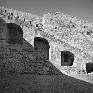 Palamidi Fortress interior, Napflio, Greece