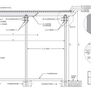 Pergola Design Plan 2