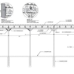 Pergola Design Plan 1